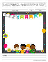 Scrapbook-Universal Children's Day