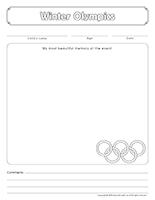 Scrapbook-Winter Olympics