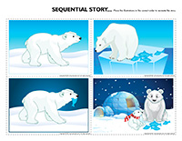Sequential story-Polar bears