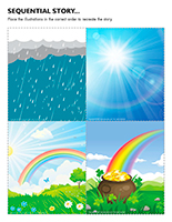 Sequential story-Rainbows