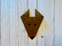 Simple Origami Wolves-4