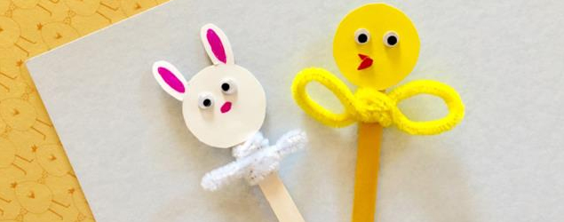 Fun And Easy Popsicle Stick Puppets!