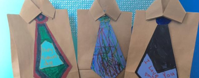 Shirt and tie gift bags