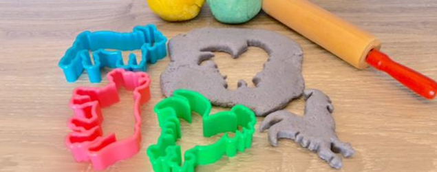 Simple edible play dough
