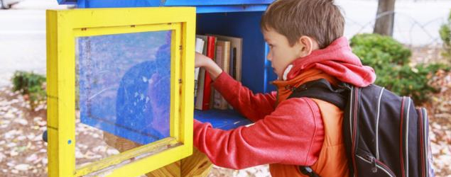 Your own little free library for book exchanges