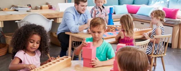 "A ""school corner"" is a must for preschoolers"