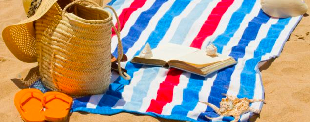 Beach bags for reading