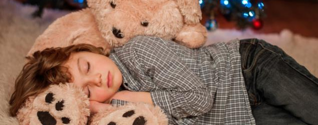 How the Holidays impact children's sleep