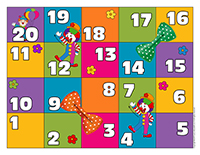 Snakes & ladders-Clowns