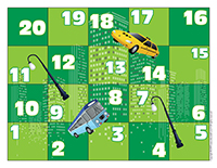 Snakes & ladders-The city