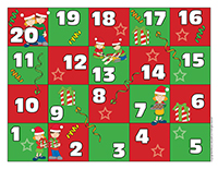 Snakes and ladders-Christmas-Sharing