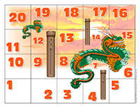 Snakes and ladders-Dragons