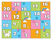 Snakes and ladders-Unicorns