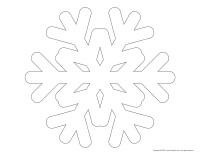 Snowflake-shapes
