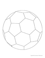 Soccer ball shape