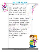 Songs & rhymes-At the pool