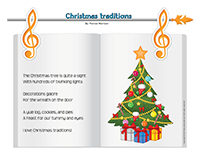 Songs & rhymes-Christmas traditions
