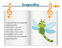Songs & rhymes-Dragonflies