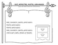 Songs & rhymes-Fashion
