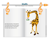 Songs & rhymes-Giraffes