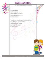 Songs & rhymes-Gymnastics