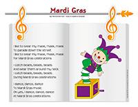 Songs & rhymes-Mardi Gras