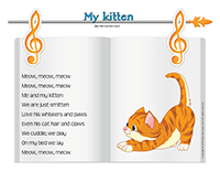 Songs & rhymes-My kitten