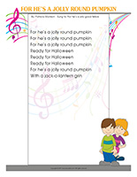 Songs & rhymes-Pumpkins