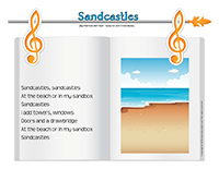 Songs & rhymes-Sandcastles