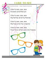 Songs & rhymes-Sense of sight