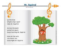 Songs & rhymes-Squirrels