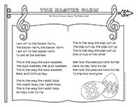 Songs & rhymes-The Easter farm