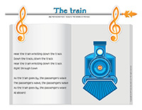 Songs & rhymes-Trains