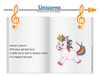 Songs & rhymes-Unicorns