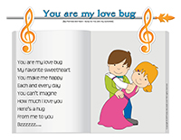Songs & rhymes-You are my love bug