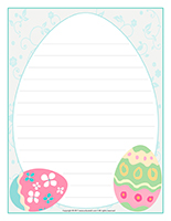 Stationery-Easter Pastel colors