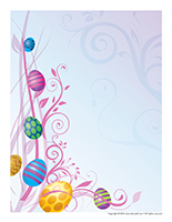Stationery-Easter farm