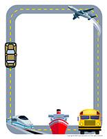 Stationery-Road transportation