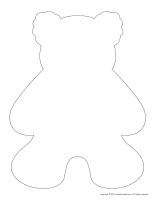 Stencils-Bears