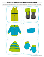 Steps for getting dressed in winter-1