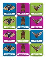 Stickers-Bats