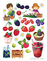 Stickers-Berries