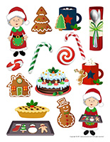Stickers-Christmas-Baking
