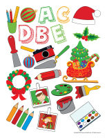 Stickers-Christmas-Creative workshops-1