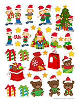 Stickers-Christmas-Sharing