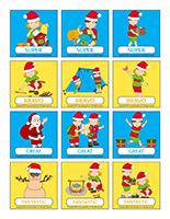 Stickers-Christmas in July