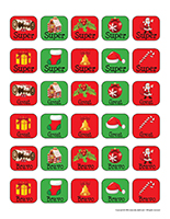 Stickers-Christmas traditions
