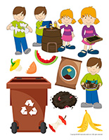 Stickers-Composting