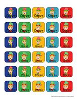 Stickers-Elves