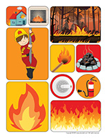 Stickers-Fire